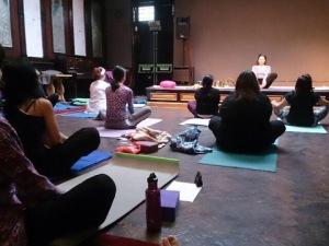 yoga begonias class