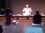 yoga marie in pose