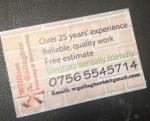 bills business card back