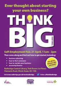 work redbridge SelfEmployment_Flyer 2015