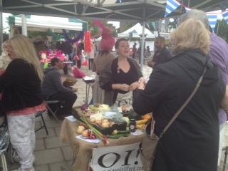 7kbp pop up Organic Ilford stall