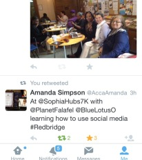 social media Amandas tweet