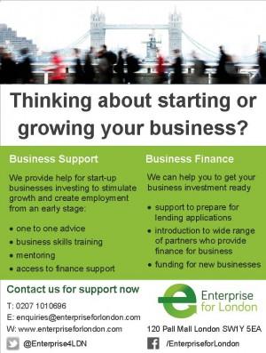 EfL business support flyer