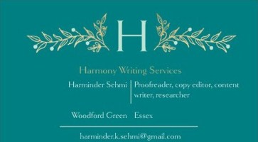 Harminder Business card