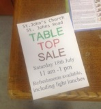 St Johns table top July 2015 2