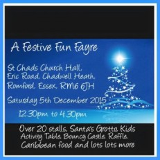 Festive Fun flyer Marlena Sam