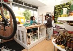 Forest Gate Emporium hires out shelf space