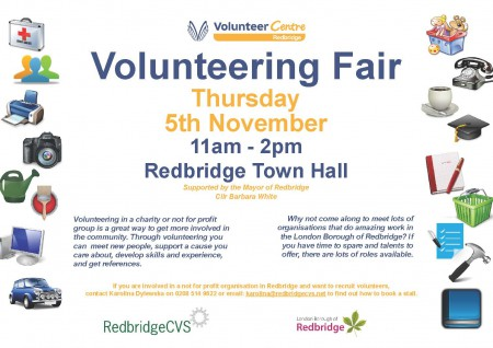 Poster volunteer fair 2015
