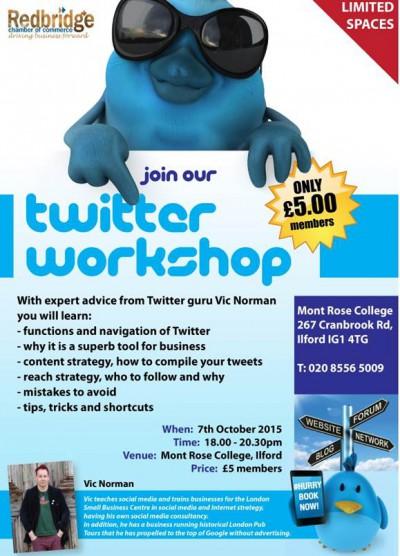 Twitter workshop chambers 2015