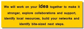 We will work on your idea...