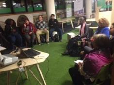 Albert Peter's speaking at entrepreneurs club 3.11.15