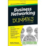 Business networking for Dummies front page