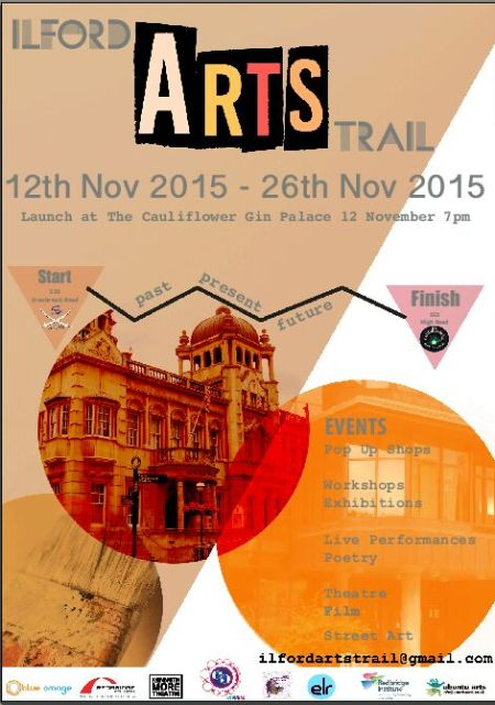 Ilford Arts Trail flyer 2015