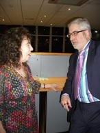 Geoff Hill and Mayor at Chamber christmas meal 2016 1