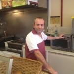 Yalcin Hainault Cafe owner