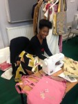 1st Annmarie upcycling stall