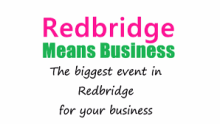 Redbridge Means business logo