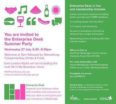 Enterprise Desk BBQ flyer 2016