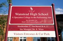 wanstead-high-school-sign