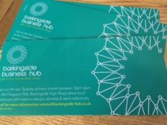 Barkingside business hub business card