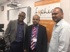 Sophia Hubs Directors with Imran Bilal of Mont Rose college