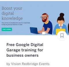 Google Digital Garage event